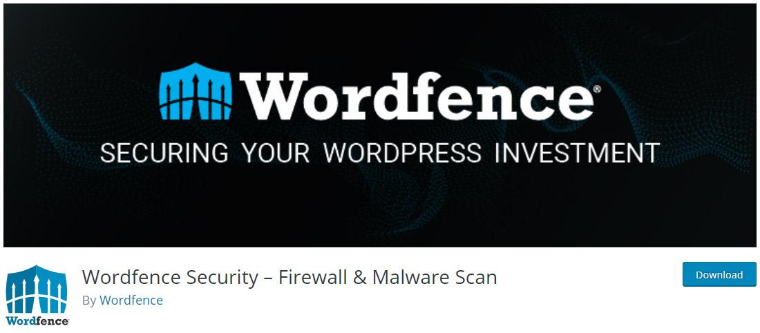 Wordfence Security è un plugin di sicurezza gratuito per WordPress