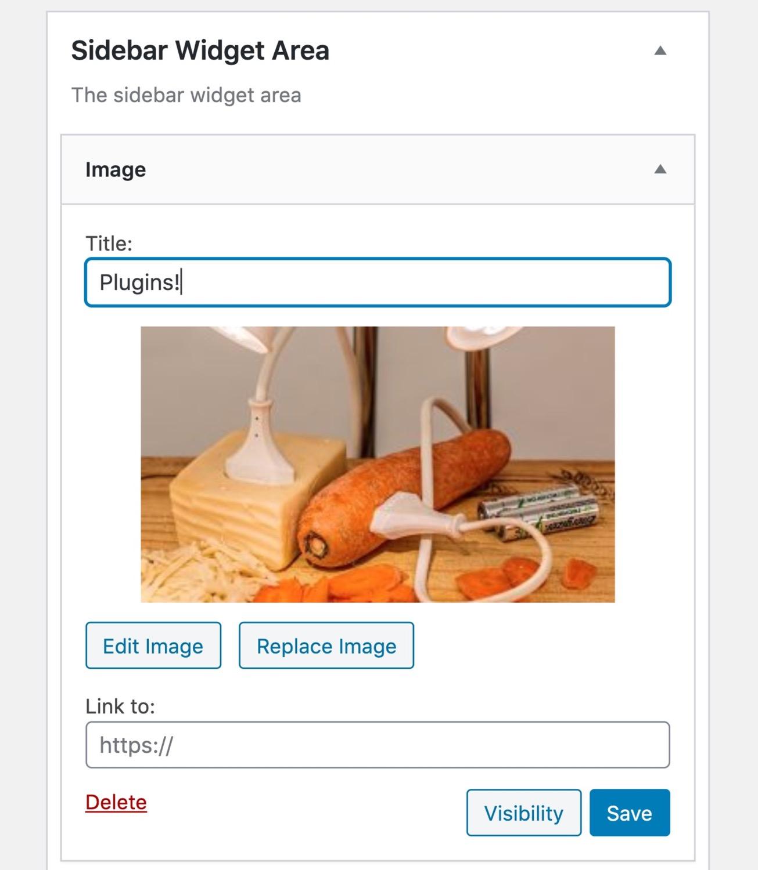 Widget Immagine