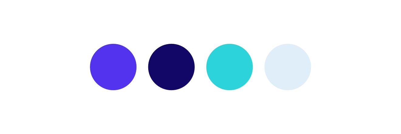 La palette di colori di Kinsta