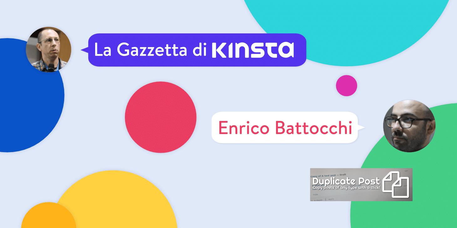 Intervista a Enrico Battocchi