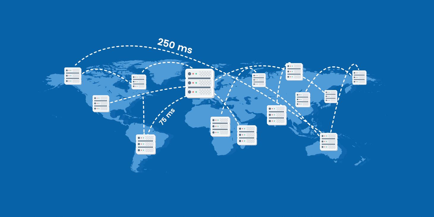 Latenza di rete - L'impatto sul vostro sito WordPress