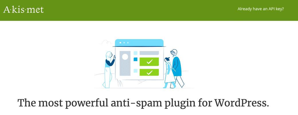 Plugin WordPress Akismet