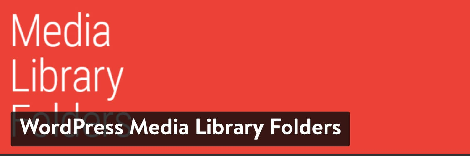 Il plugin WordPress Media Library Folders