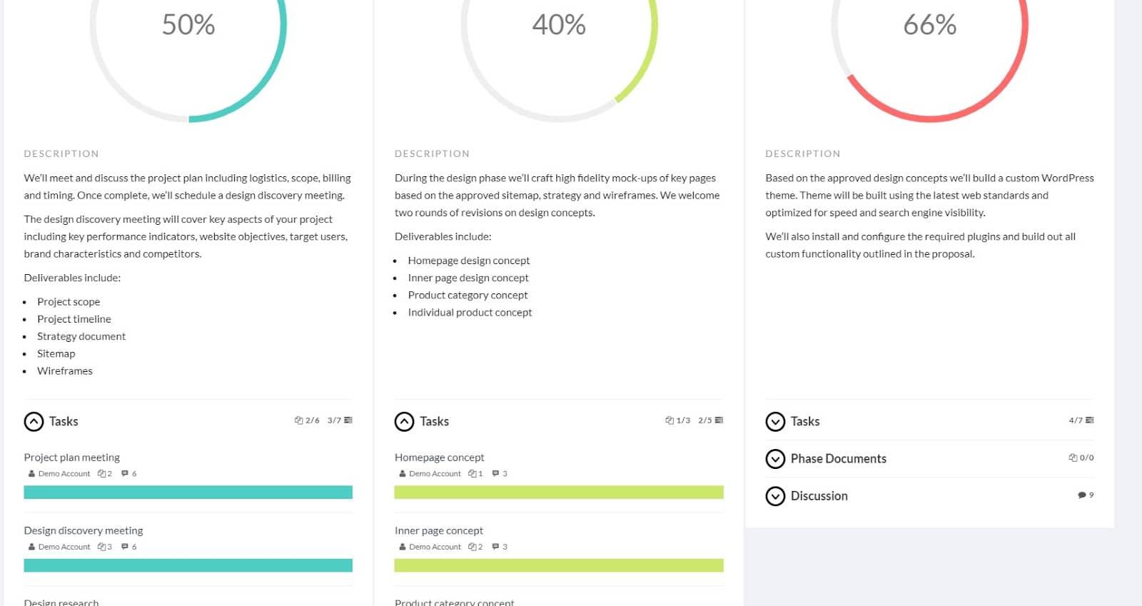 L'interfaccia utente di Panorama