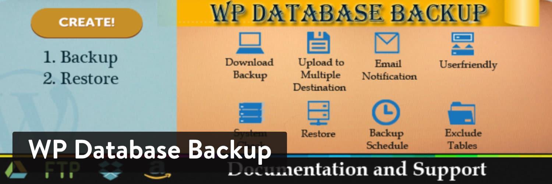 Plugin WordPress WP Database Backup