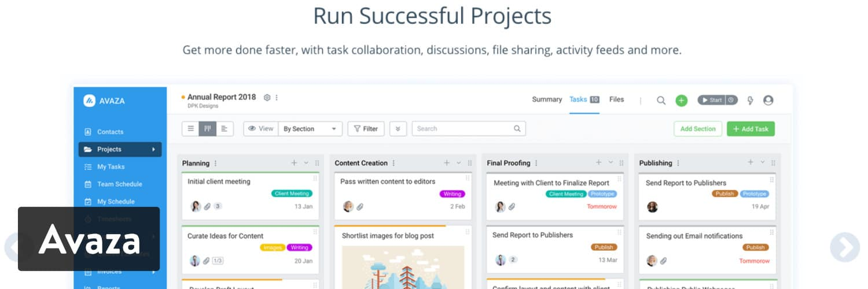 Plugin WordPress Avaza