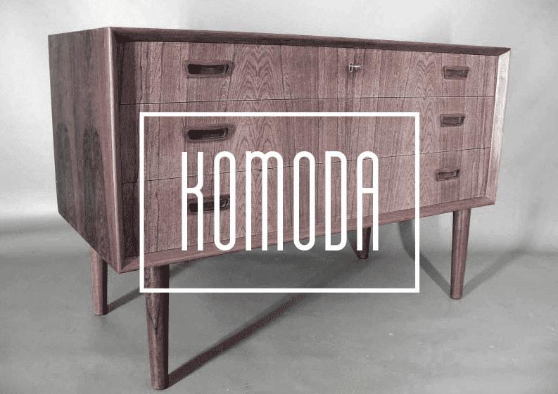 Modern fonts: komoda