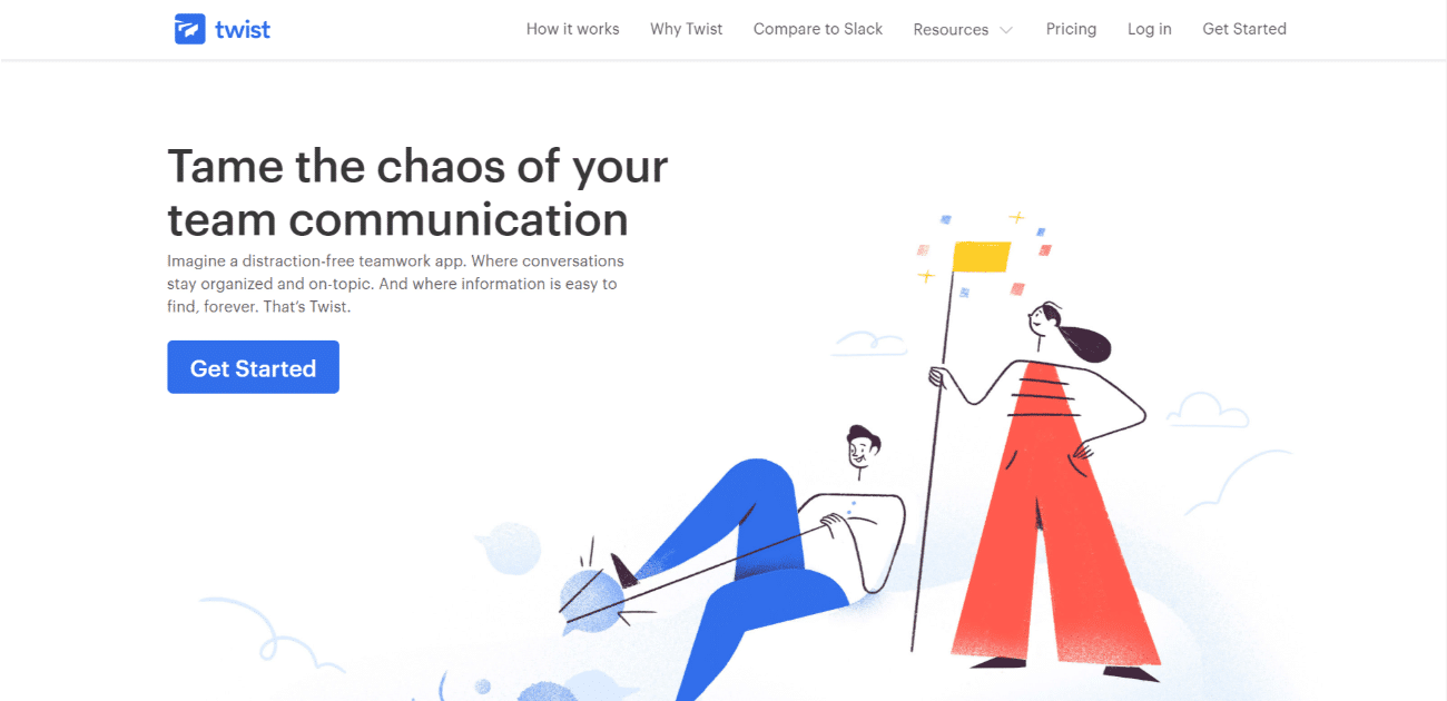 twist team communication