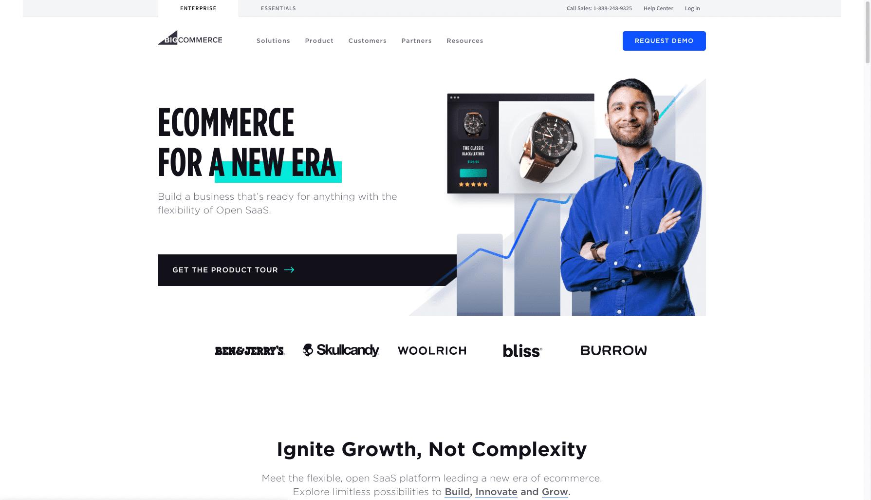 BigCommerce - shopify alternatives