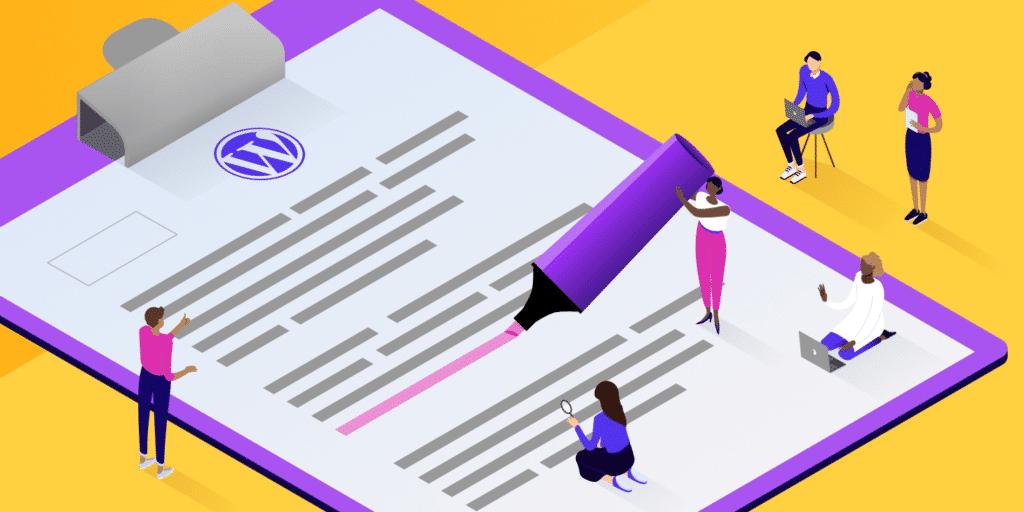 revisioni wordpress