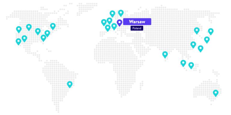 data center Varsavia