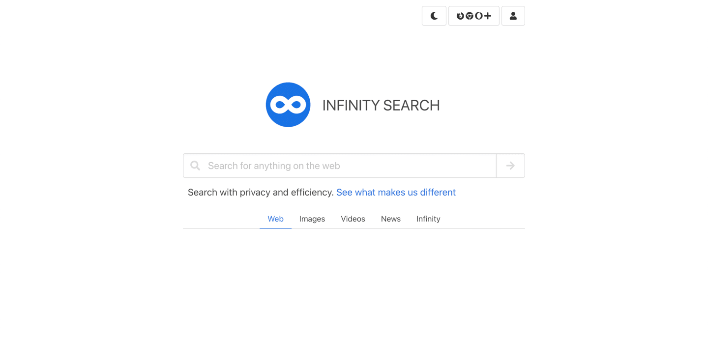 Infinity search
