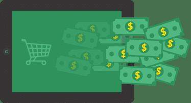 ウェブサイトへの収益の流入