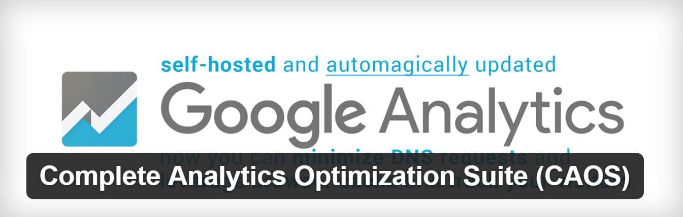 google analyticsをローカルでホストするプラグイン