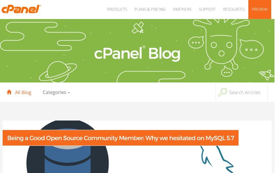 cPanelのブログ