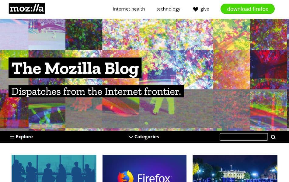 Mozillaのブログ