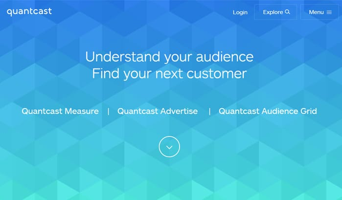 quantcastのwordpressサイト
