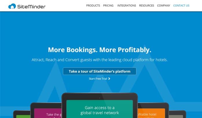 siteminderのwordpressサイト