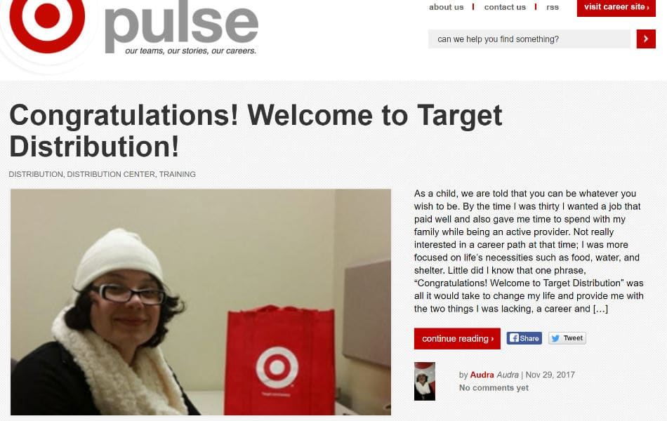 Target Pulseのブログ