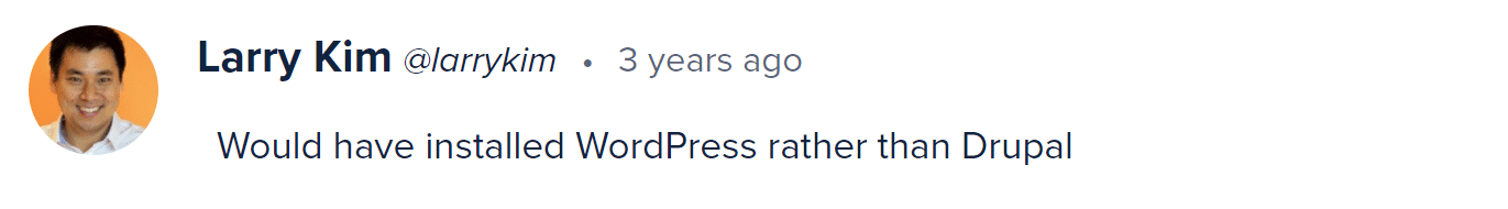 WordPress対Drupal