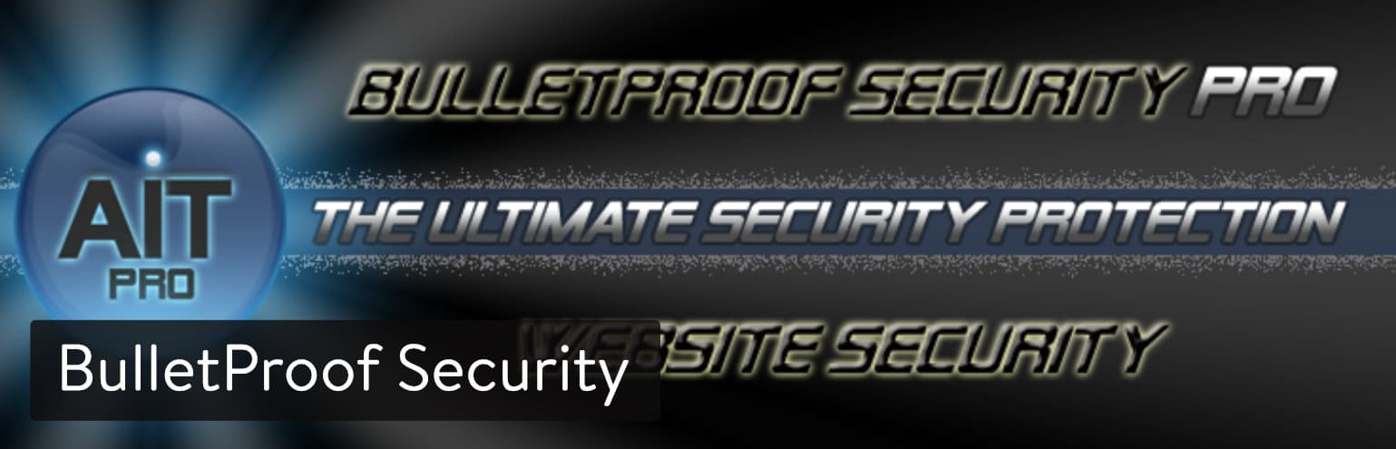 WordPressプラグインBulletProof Security