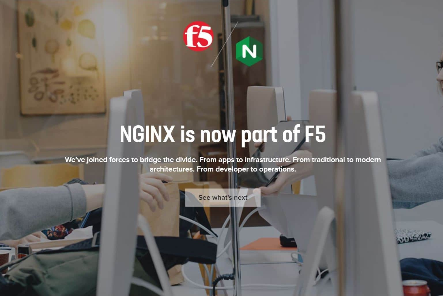 F5 NetworksがNGINX Incを買収