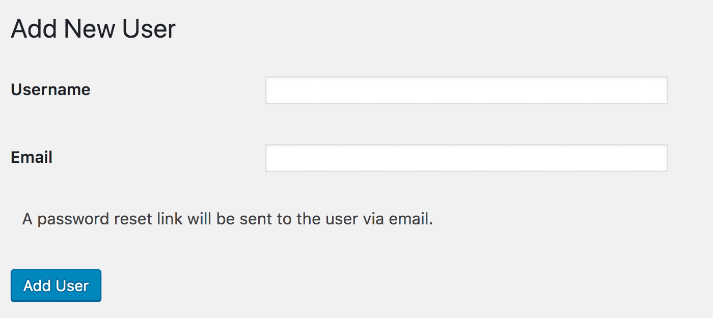 「新規ユーザーを追加」画面
