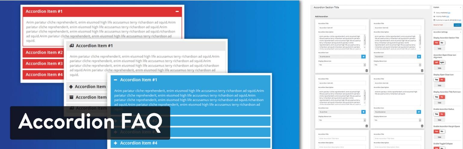 WordPress FAQ プラグイン:Accordion FAQ