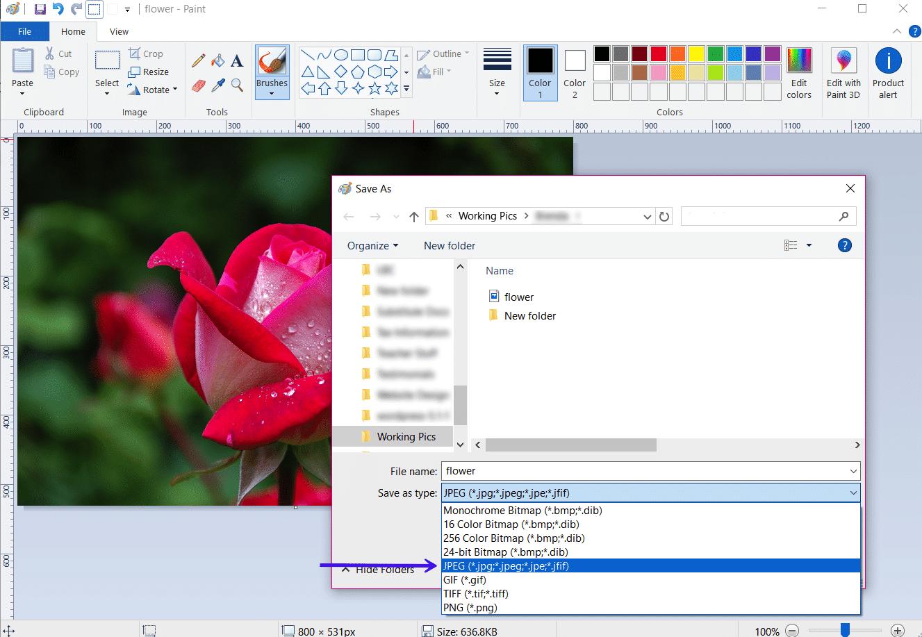 Windows Windowsペイント