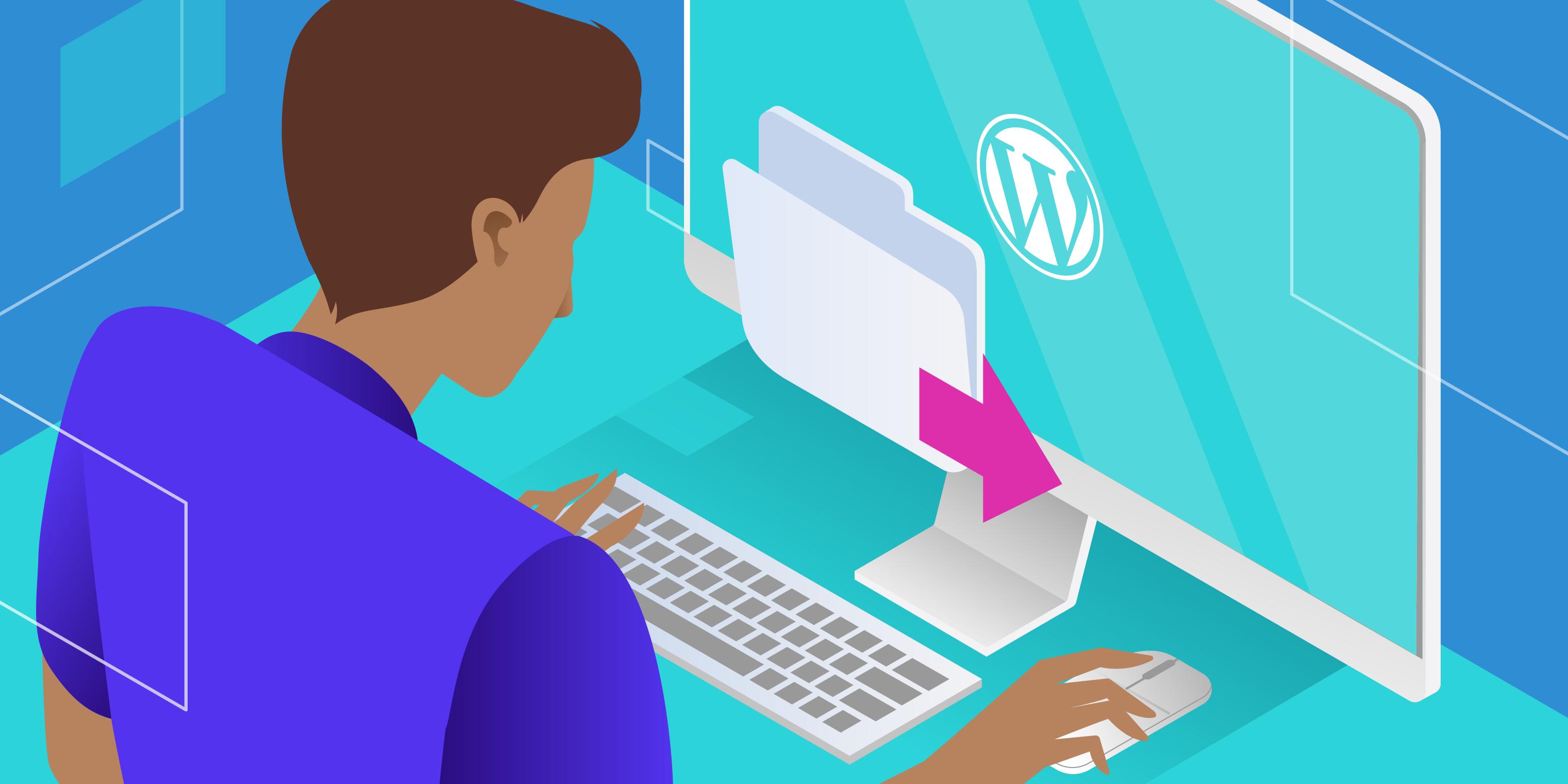 export wordpress site