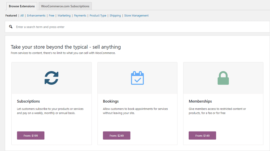 WooCommerce拡張機能