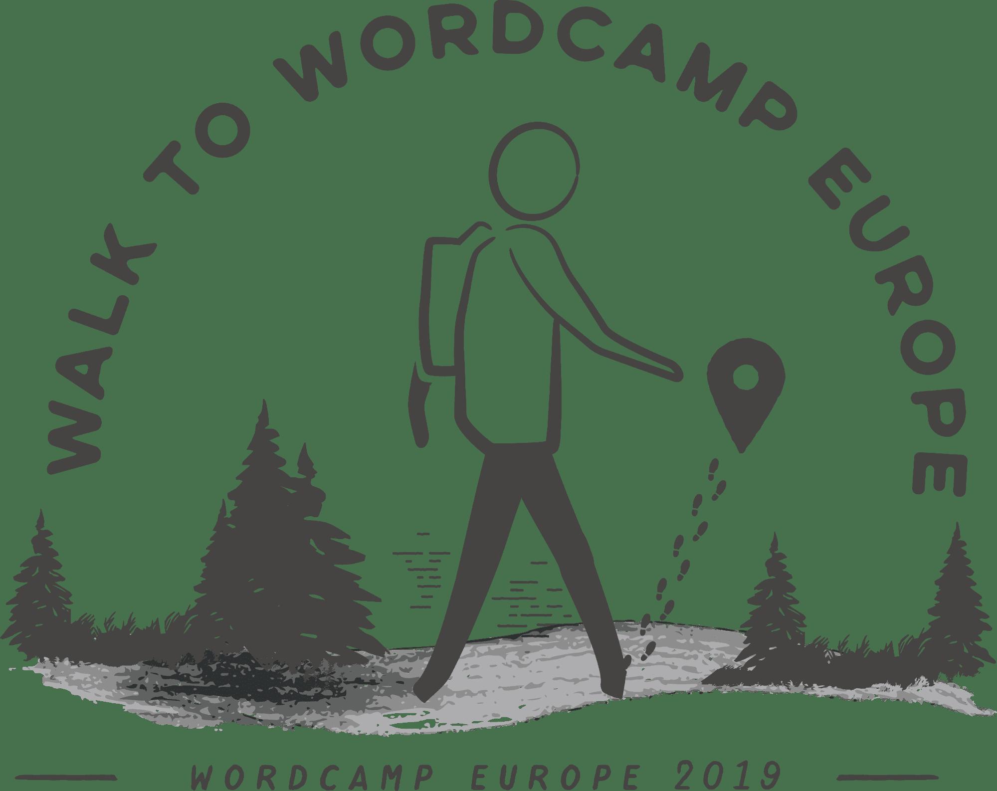 WordCamp Europeへのハイキング