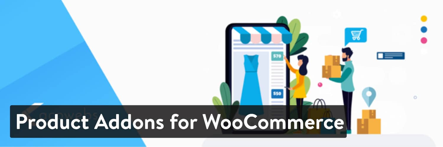 Product Addons for WooCommerce WordPressプラグイン
