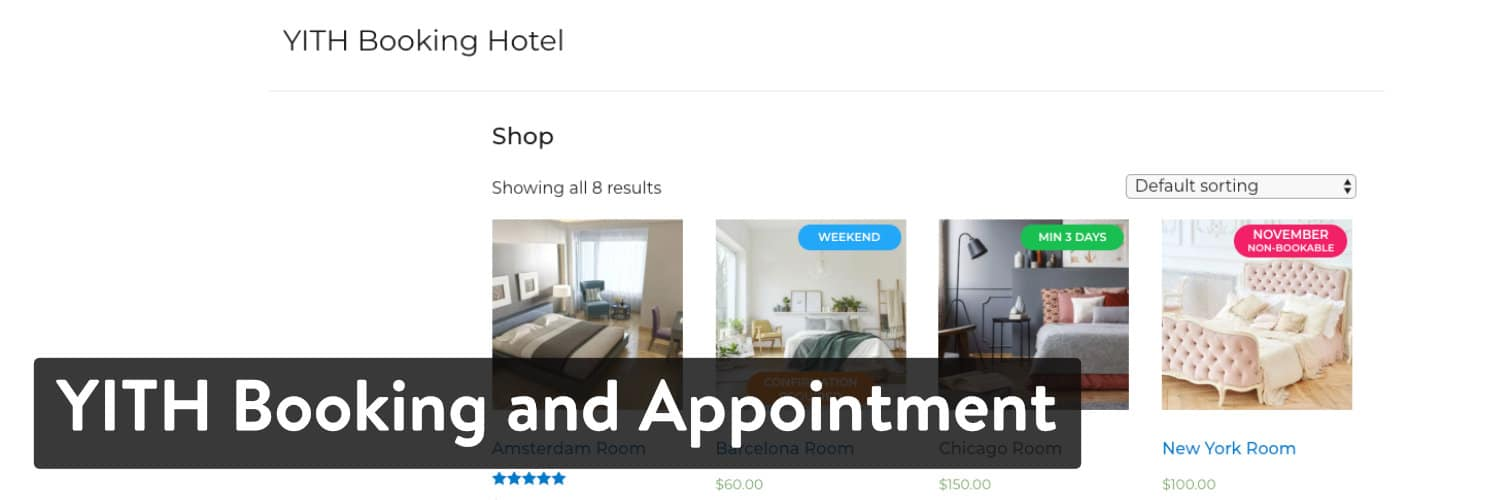 YITH Booking and Appointment for WooCommerce WordPressプラグイン