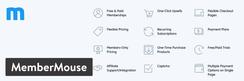 WordPressプラグイン「MemberMouse」
