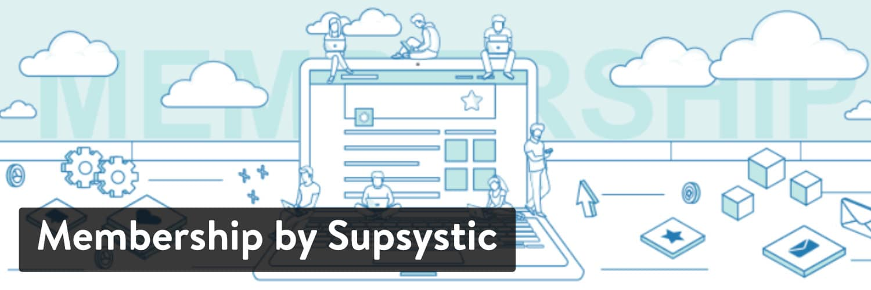WordPressプラグイン 「Membership by Supsystic」