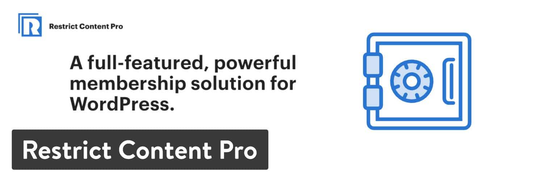 WordPressプラグイン「Restrict Content Pro」