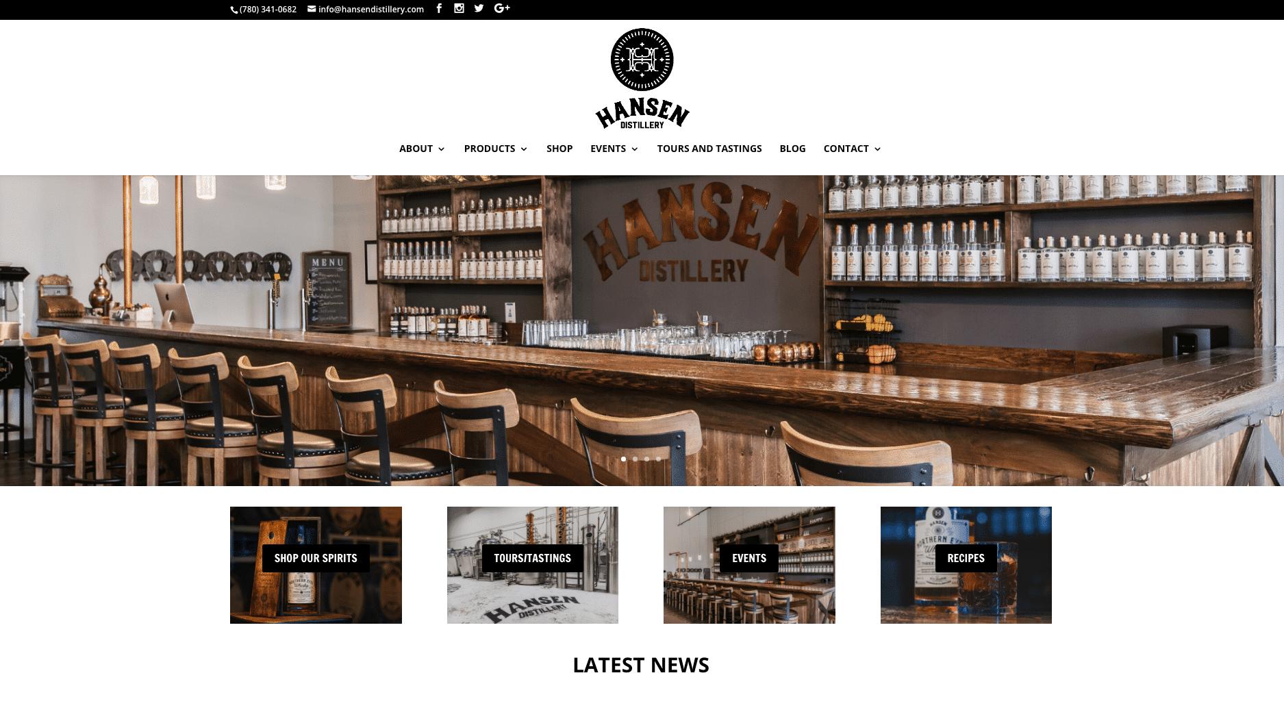 Hansen Distillery(スピリッツ&イベント会場)