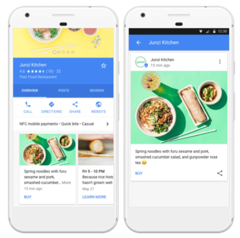 Googleの「投稿(Posts)」機能を使ってビジネスをアピールする