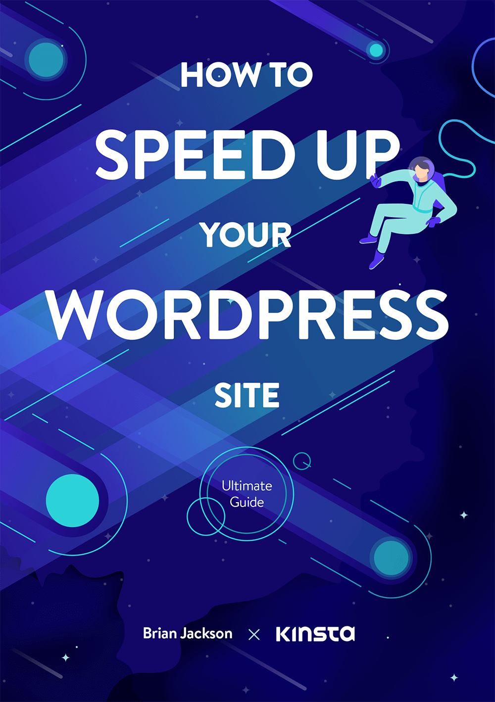 """""""How to Speed Up Your WordPress Site"""" ebook cover"""