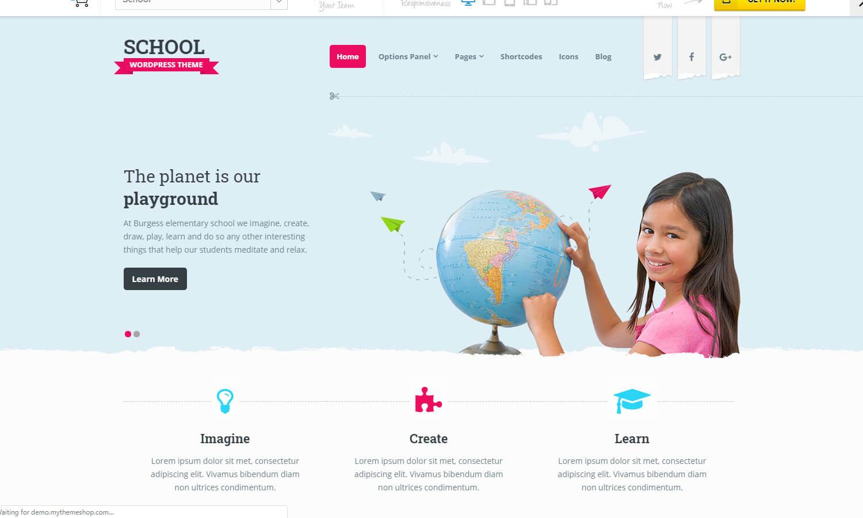 School screenshot