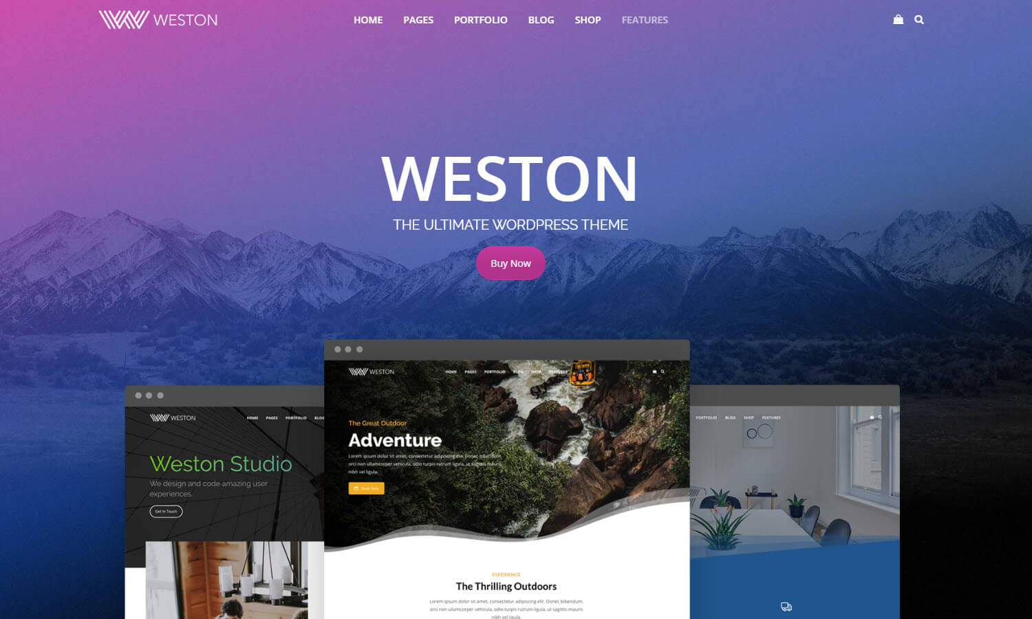 Weston screenshot