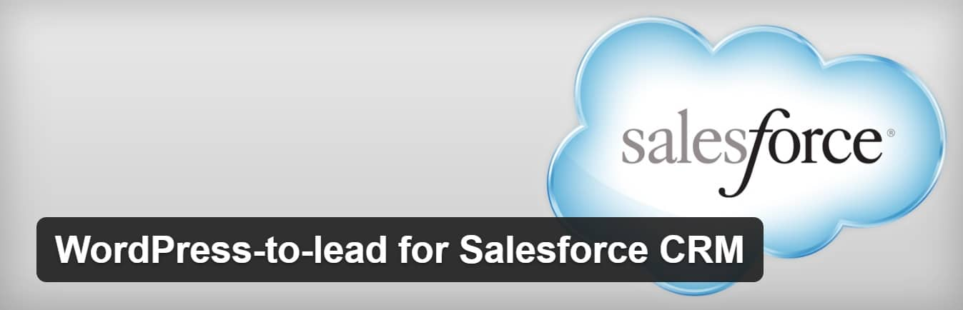 salesforce wordpress crm