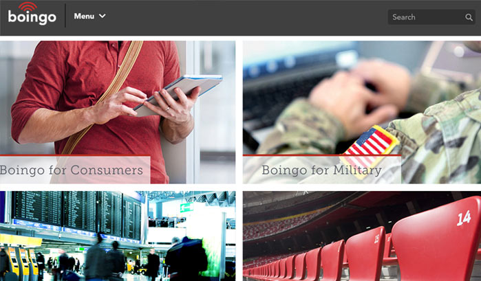 boingo wordpress site