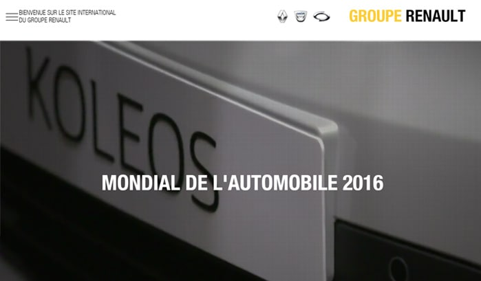 groupe renault wordpress site