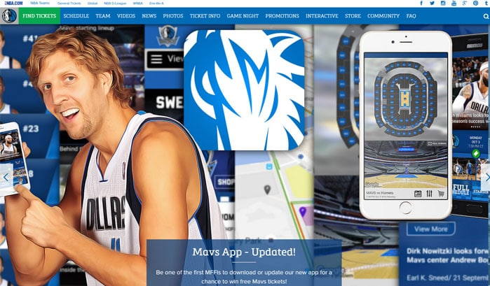 mavs wordpress site