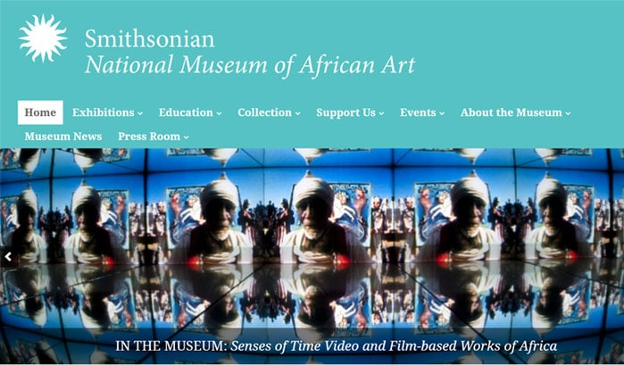 national museum of national art wordpress site