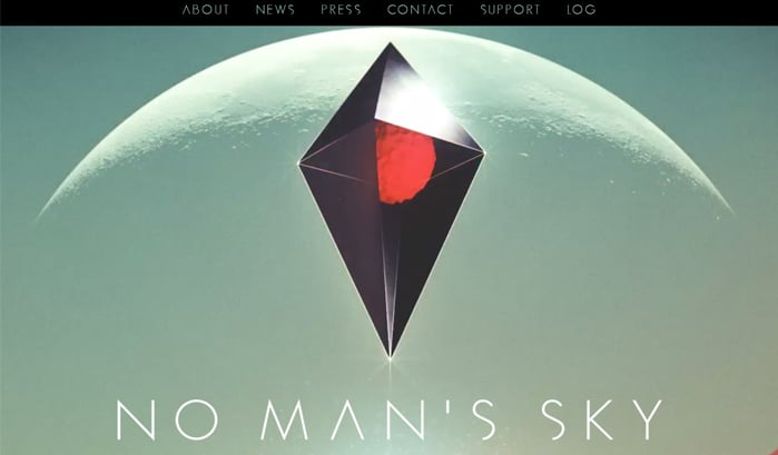 no man's sky wordpress site