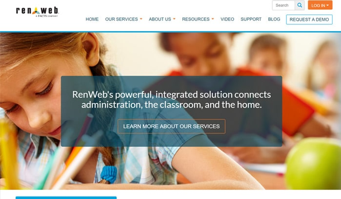 RenWeb wordpress site