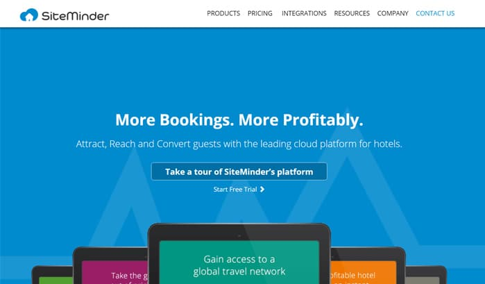 siteminder wordpress site